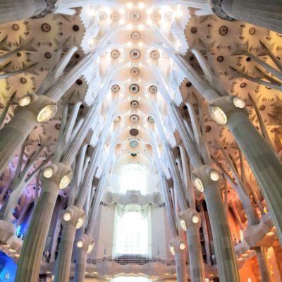 Basílica de la Sagrada Família. Barcelona, Spain