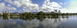 Ala Wai Canal, Waikiki, Honolulu, Hawaii, United States